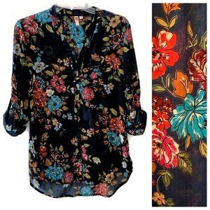 Kut from the Kloth Sinclaire Floral Print Top M